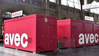"""Die """"avec box"""" ist die neueste Erfindung des Kioskkonzerns Valora. (Archivbild)"""