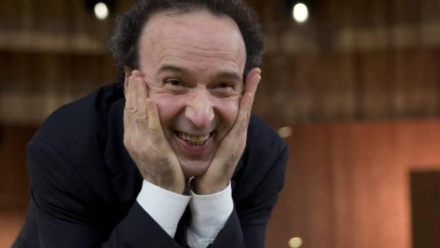 Schauspieler und Regisseur Roberto Benigni