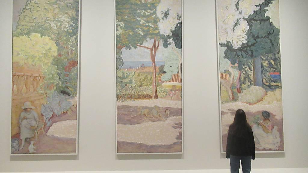 Von Cézanne und Monet bis zu Gauguin und Matisse: Die Fondation Louis Vuitton hat die legendäre Sammlung der russischen Brüder Morosow nach Paris geholt. Foto: Sabine Glaubitz/dpa - ACHTUNG: Nur zur redaktionellen Verwendung im Zusammenhang mit der aktuellen Berichterstattung über die Ausstellung und nur mit vollständiger Nennung des vorstehenden Credits