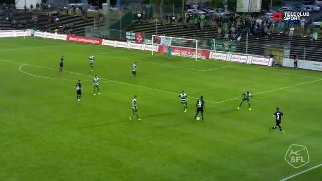 Challenge League 19/20 Runde 2: FC Aarau - SC Kriens 27.7.19 - 3:1 FC Aarau Yvan Alounga (Assist: Jérôme Thiesson)