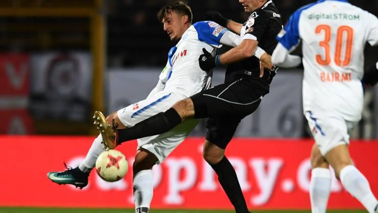 Die Grasshoppers ringen Lugano im Cup nieder
