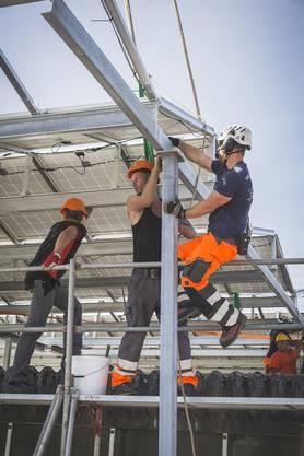 Swiss Prime Site realisierte die Photovoltaikanlage in Zuchwil zusammen mit regionalen Partnern.