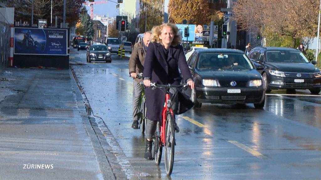 Zürich macht die Strassen für Velofahrer schneller und sicherer