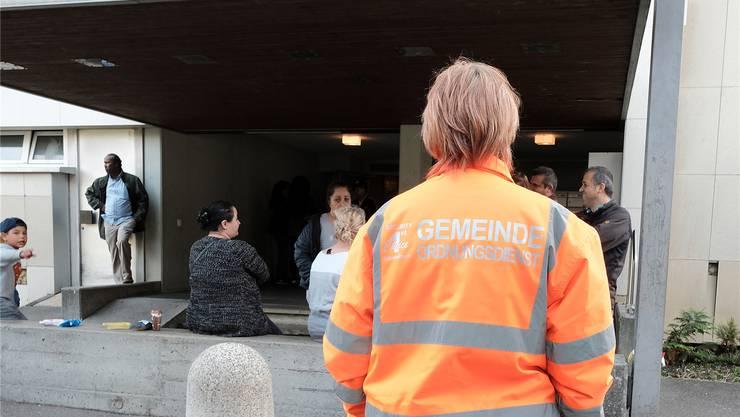 Nach drei Bränden schaut nun Security-Personal nach dem Rechten.