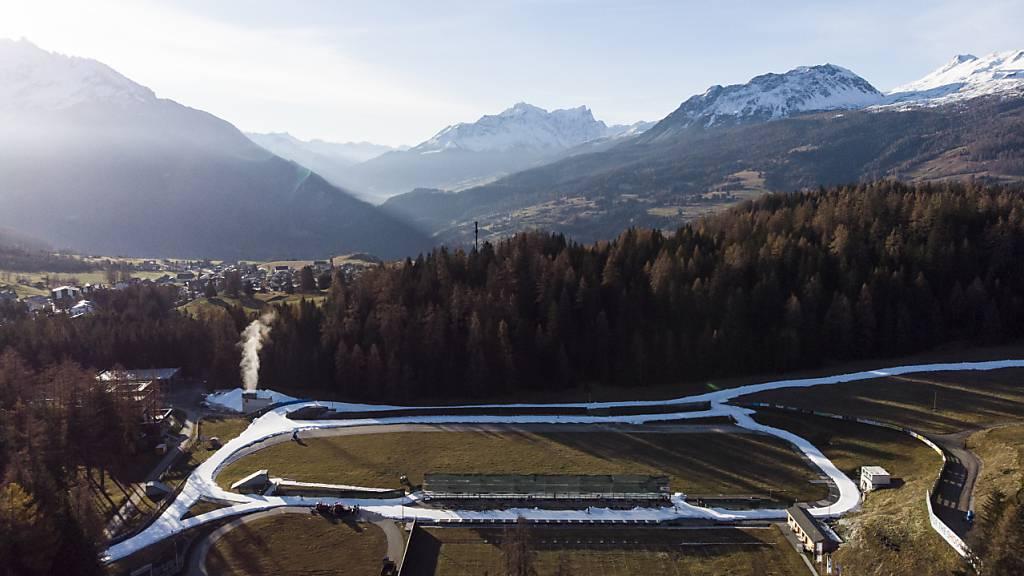 Die Biathlon-Anlage in Lenzerheide wird ab 2023 zum Schauplatz von Weltcup-Wettkämpfen