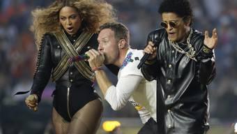 Halbzeitshow beim Super Bowl