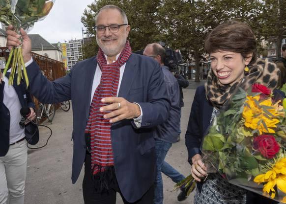 Kanton Genf: Carlo Sommaruga (SP) und Lisa Mazzone (Grüne) verteidigen für Rot-Grün die Sitze im Ständerat.