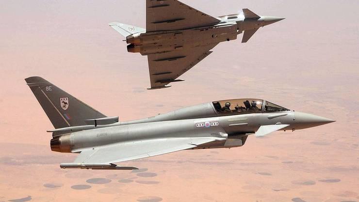 Mit solchen Kampfjets verjagden die Briten die Russen aus dem Luftraum
