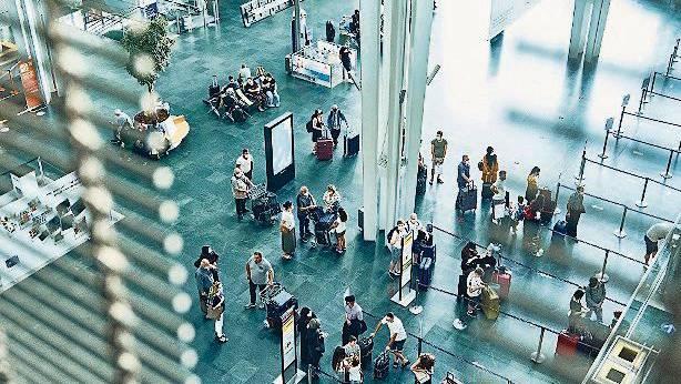 Obligatorische Corona-Tests am Euro Airport bei Rückreise aus Risikoländern. (Archivbild)