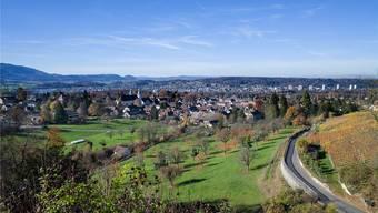 Der Blick vom Schloss Birseck auf das Ortszentrum Arlesheim mit Dom. (Archiv)