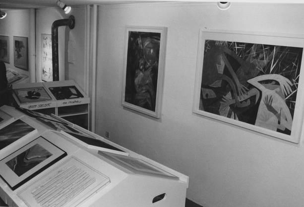 Historische Eindrücke aus dem Künstlerhaus.