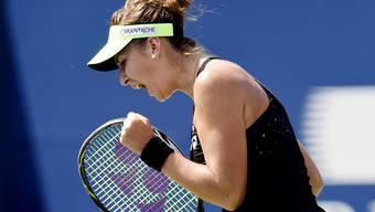 Belinda Bencic gegen Simona Halep im Final des Rogers Cup in Toronto