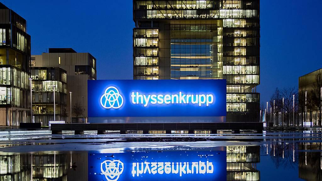 Thyssenkrupp streicht nach Milliardenverlust weitere 5000 Stellen