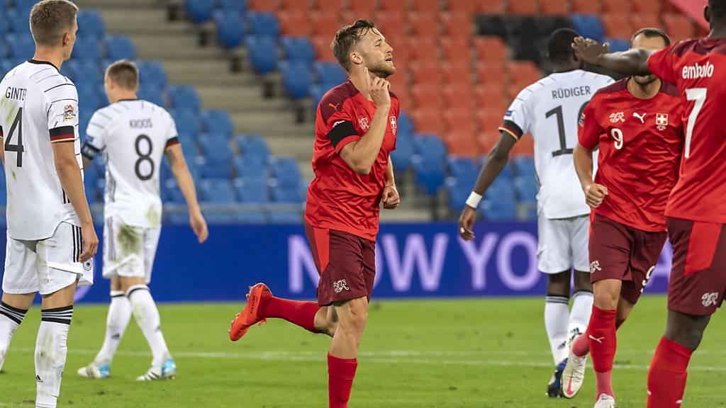 Silvan Widmer schoss sein erstes Tor in der Schweizer Nationalmannschaft