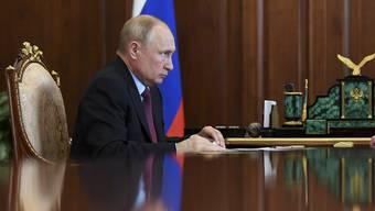 Innen schwach, aussen tough: Wladimir Putin.