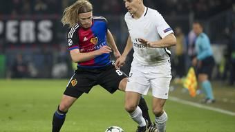 Erzielte gegen den FCB in der 90. Minute das 2:1 für Paris Saint-Germain: der Belgier Thomas Meunier