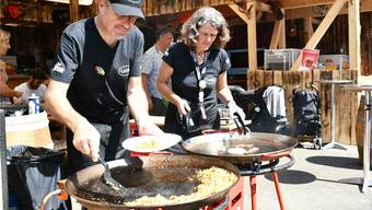 Die Kulinarik am Stadtfest Brugg