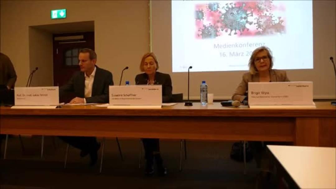 Lockdown wegen Corona-Virus: Die Medienkonferenz der Solothurner Regierung zum Nachschauen (16.März 2020)