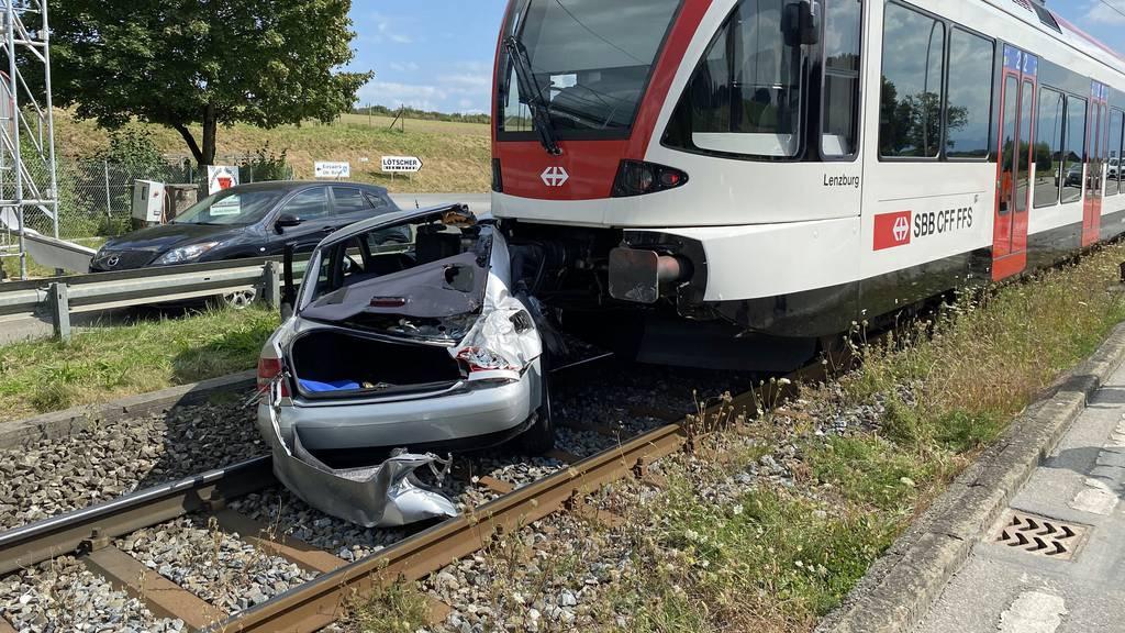 Bahnverkehr zwischen Lenzburg und Luzern unterbrochen