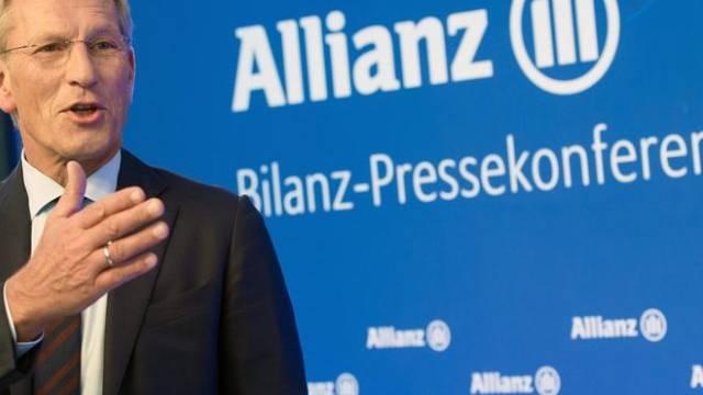 Kündigt für 2015 Gewinn auf Vorjahreshöhe an: Allianz-Chef Diekmann