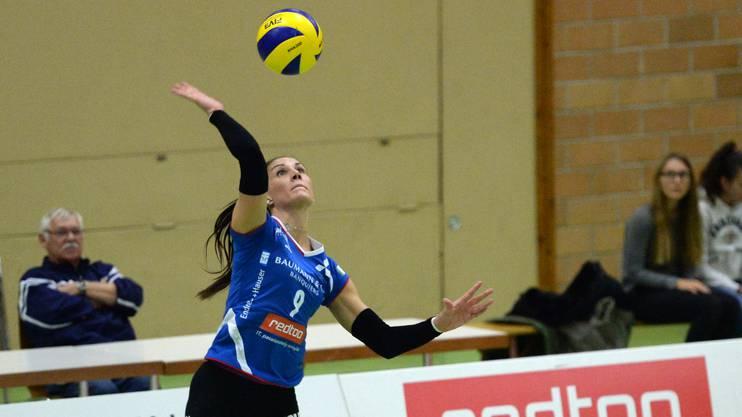 Fehlte im Cupfinal gegen Volero: Schlüsselspielerin Anu Ennok.