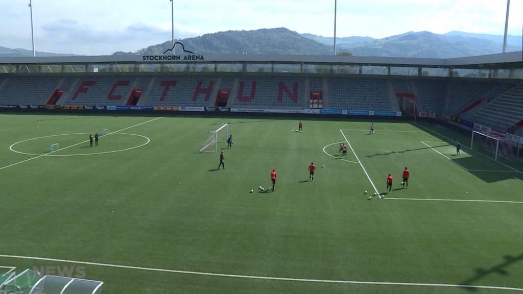 FC Thun zeigt sich vor Cupfinal optimistisch