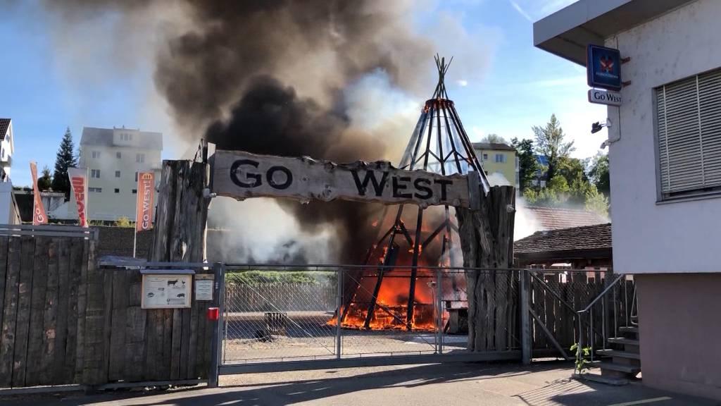 «Go West»: Brandursache war vermutlich technischer Defekt