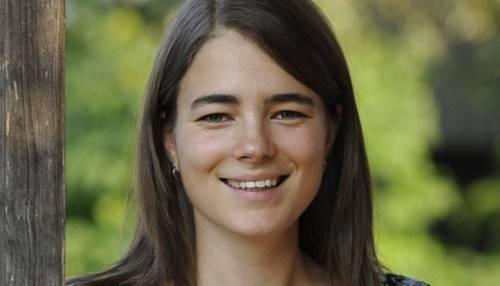 Sarah Fasolin, Autorin des Gartenreiseführers