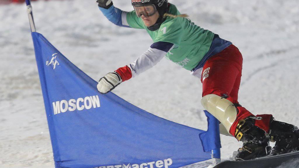 Julie Zogg kürt sich an den Weltmeisterschaften in Park City zur Weltmeisterin