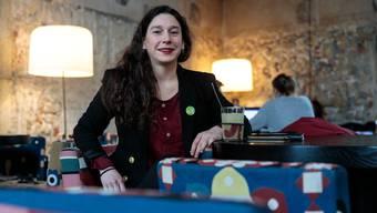 Laura Gantenbein, Vorstandsmitglied von femso und Präsidentin der Grünen Kanton Solothurn.