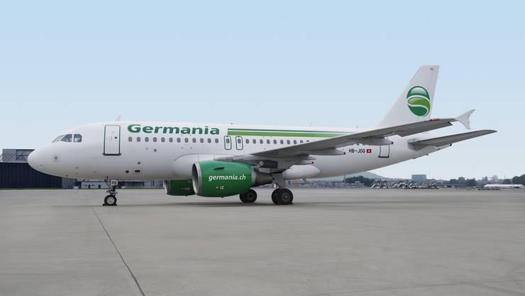 Ist das nächste Grounding im Anflug? Ein Airbus A319 der Schweizer Germania Flug AG am Flughafen Zürich.