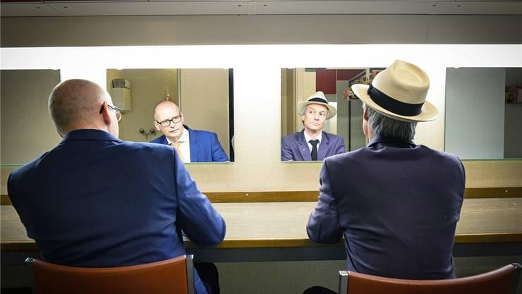 Die Jury der 31. Oltner Kabarett-Tage zeichnet das Duo Schertenlaib & Jegerlehner mit dem Schweizer Kabarettpreis Cornichon 2018 aus. Reto Camenisch