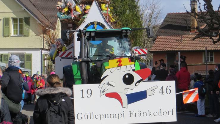 Die Güllepumpi Fränkedorf seit 1946