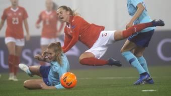 Impressionen vom Barragespiel Schweiz - Niederlande (13.11.2018)