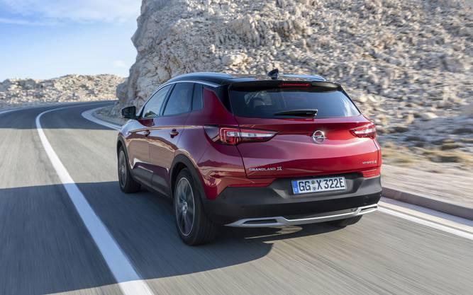 Opel Grandland X Hybrid-4