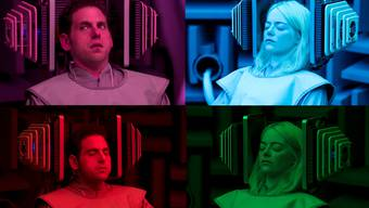 Einsame Seelen: Owen (Jonah Hill) und Annie (Emma Stone) nehmen an einem Experiment teil – und stürzen sich mit jedem Versuch in ein neues Abenteuer.