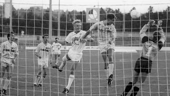 Ein Bild aus besseren Tagen: Der FC Locarno im Jahr 1988 in der damalien Nationalliga B