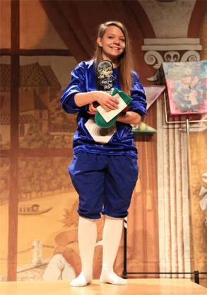 Rang 1 Junge Pfeifer: Geraldine Gehrig.