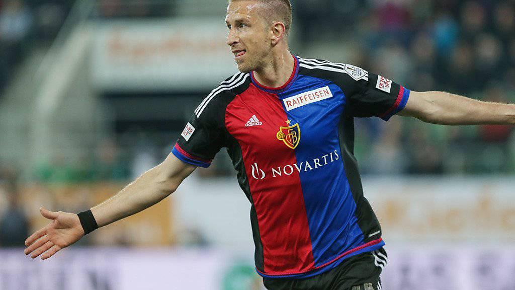 Marc Janko verlässt den FC Basel nach zwei Jahren