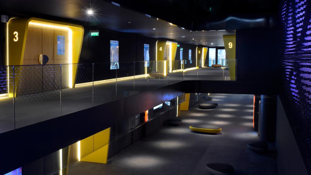 Das Kino Pathé Mall of Switzerland öffnet seine Türen.