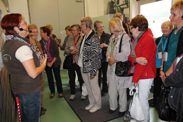 Süsses und Interessantes gab es in der Maestrani Schokoladenfabrik zu erfahren.