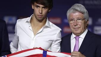 João Felix ist der teuerste Transfer des Sommers - der 19-jährige Portugiese wechselte für 126 Mio. Euro von Benfica Lissabon zu Atlético Madrid