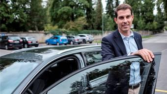 FDP-Nationalrat Thierry Burkart, Vize-Präsident des TCS Schweiz.