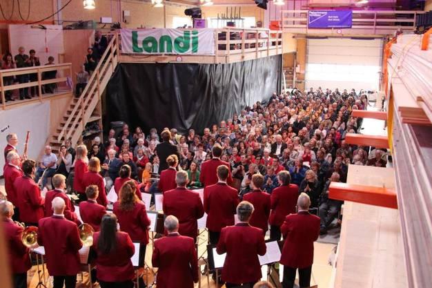 Konzert in der Fleischmann Holzbau AG