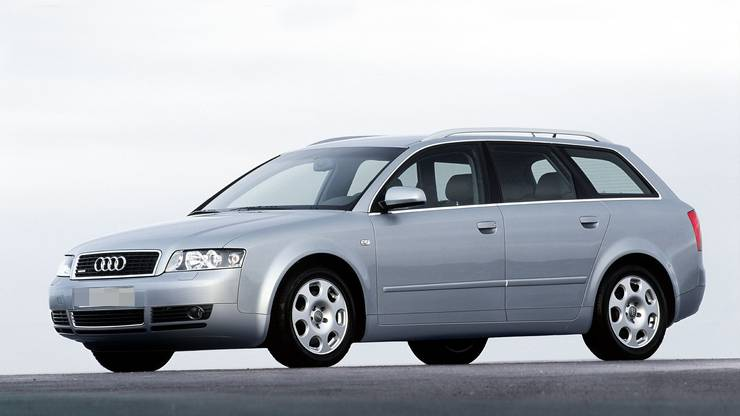Zu einem solchen Audi A4 Kombi baten die Ermittler um Hinweise.