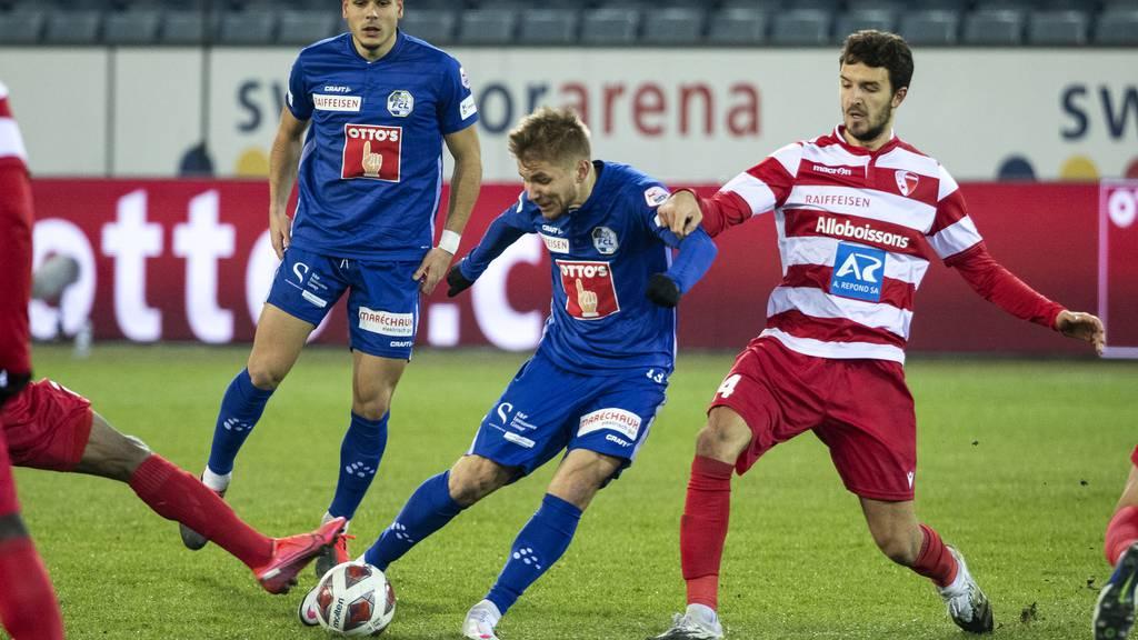Die Luzerner gegen den FC Sion im Vorwärtsgang