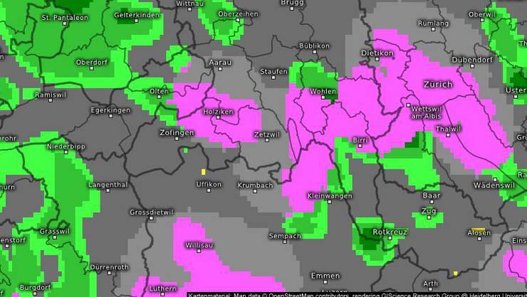 Wetter-Prognose Kachelmannwetter für Donnerstag 20 Uhr