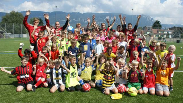 Der Nachwuchs ist das Prunkstück des FC Solothurn. zvg
