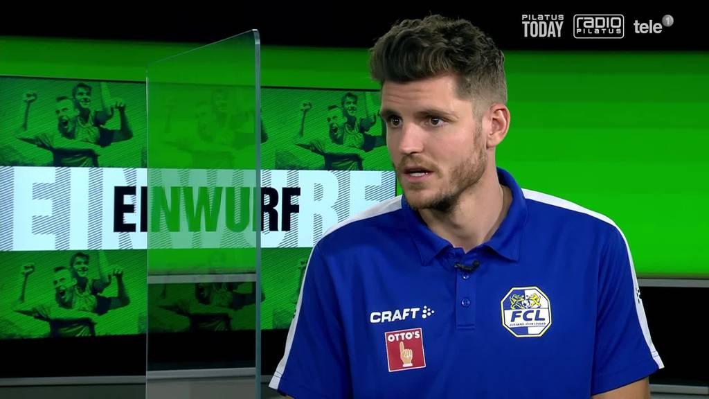 FCL-Mittelfeldspieler Pascal Schürpf im Interview