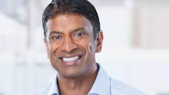 Der Novartis-Chef Vas Narasimhan darf sich über einen hohen Managerlohn freuen.